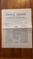 JOURNAL OFFICIEL DE LA FRANCE LIBRE 20 JANVIER 1941 A TOUS LES FRANCAIS GENERAL DE GAULLE FEUILLET 4 PAGES - 1939-45