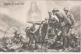 Cartolina Santino Militare - Santini