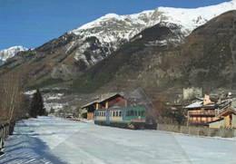 570 Treno ALn 663.1003 Stazione Di Morgex Aosta Railroad Train Railways FS - Treni