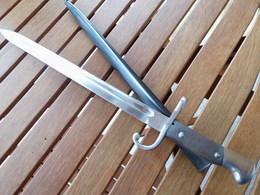 Baionnette Mauser Argentin Mle 1909 Monomatricule - Armes Blanches