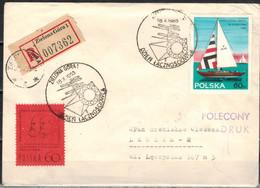 POLEN 1965 - Rekobeleg Mit  MiNr: 1590+1596  SStmp. - 1944-.... Republik