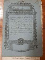 1837 - FERRARA - ATTI MANOSCRITTI - TESTAMENTO DI UN SACERDOTE SU CARTA BOLLATA - Manoscritti
