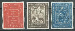 Luxembourg YT N°542/544 Saint Willibrord Neuf ** - Luxemburg
