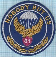 UKRAINE / Patch Abzeichen Parche Ecusson / Peacekeeping Forces . 81 Airmobile Crew. Airborne. Special Forces . - Blazoenen (textiel)