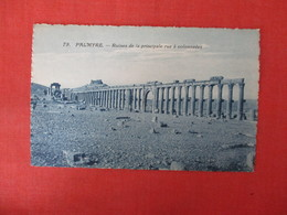 Syria Palmyre  Ruins         Ref 3325 - Syria