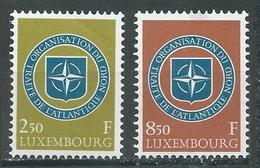 Luxembourg YT N°562/563 OTAN Neuf ** - Luxemburg