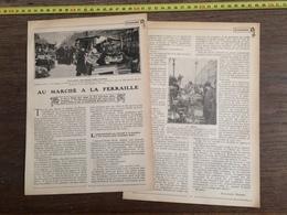1906 AU MARCHE A LA FERRAILLE PARIS BOULEVARD RICHARD LENOIR - Old Paper