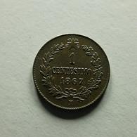 Italy 1 Centesimo 1867 M - 1861-1946: Königreich