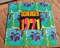 Vinyl Records Stereo 33 Rpm LP SCHLAGER 1971 DDR Amiga Germany - Vinyl Records