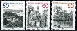 Berlin .- Mi 685 / 687   - ** Postfrisch (A) - Berlin-Ansichten IV - Unused Stamps