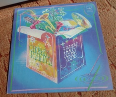 Vinyl Records Stereo 33 Rpm LP Happy New Year Melodia 1982 USSR Soviet - Vinyl Records