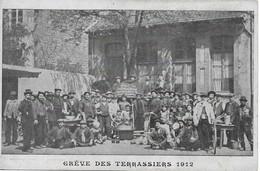 Greve Des Terrassiers 1912 - Cartes Postales