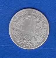 Mark  1873 F  Rare - 1 Mark