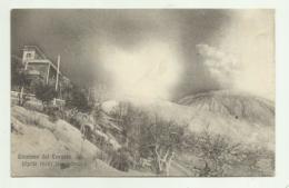 NAPOLI - ERUZIONE DEL VESUVIO  - FASE MASSIMA APRILE 1906   VIAGGIATA FP - Napoli