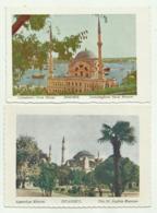 ISTANBUL - THE ST. SOPHIA MUSEUM - DOLMABAGHTCHE NAVAL MUSEUM - NV FG E FP - Turchia