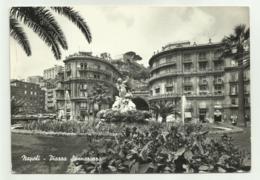 NAPOLI - PIAZZA SANNAZZARO   VIAGGIATA FG - Napoli (Naples)