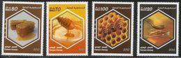 2012 2013 Yemen Bees Honey  Complete Set Of 4  MNH - Abeilles