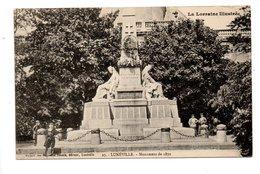 54 - LUNÉVILLE . MONUMENT DE 1870 - Réf. N°22000 - - Luneville