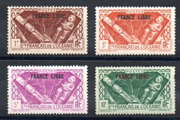 OCEANIE - YT N° 144-146-147-148 - Neufs * - MH - Cote: 132,00 € - Oceania (1892-1958)