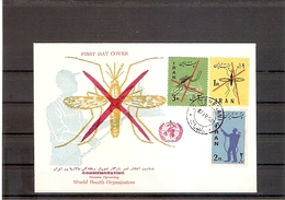 Iran Mi.Nr. 1077-1079 O FDC Kampf Gegen Die Malaria Und Das Sumpffieber 1960 (fdc20) - Iran