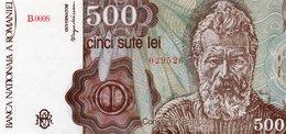 ROMANIA=1991  500 LEI    P-98     UNC - Rumania