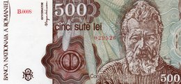 ROMANIA=1991  500 LEI    P-98     UNC - Romania