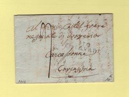Chiavari - 110 - 1812 - Departement Conquis Des Apennins - 1792-1815: Dipartimenti Conquistati