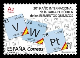 Spain 2019 Mih. 5318 Chemistry. International Year Of The Periodic Table MNH ** - 1931-Today: 2nd Rep - ... Juan Carlos I