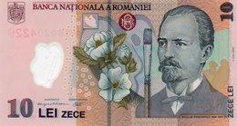 ROMANIA=2005     10  LEI    P-119  Polymer     UNC - Romania
