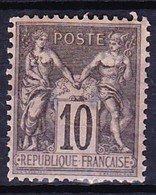 FRANCE TYPE SAGE II 1877-80 YT N° 89 * - 1876-1898 Sage (Type II)