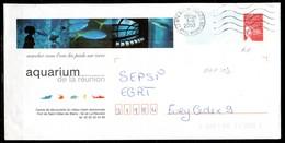 PAP103 / Luquet RF > Aquarium Réunion > FD 5LO Dept 974 (Réunion ) 2003 - Entiers Postaux