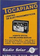 Pocket Calendar  / Card Almada / Tocapiano 1989 - Calendars