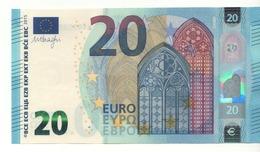 "20 EURO  ""Germany""   DRAGHI    W 001 D3    WA0214774588  /  FDS - UNC - EURO"