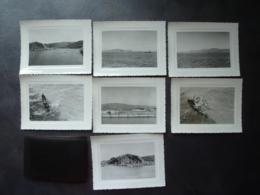 """ASIE INDE  Photos + Négatis 1957 VIZAGAPATAM  Rade, Le Port  Le Goulet, Pêcheurs Indiens,  Photo Prise Du Cargo """"Auray"""" - Autres"""