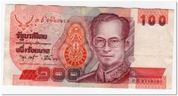 THAILAND,100 BAHT,1994,P.97,VF - Tailandia
