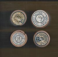 4 Carros De Linhas J. & P. Coats. Ross & Duncan, Best Glass. 4 Cars Lines J. & P. Coats. Ross & Duncan, Best Glass. 2s - Textile & Clothing