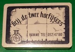 Jeux De Cartes Complet Brij. De Twee Hoefijzers HAMME  ( Bleu ) - 32 Cartes
