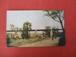 Tsavo Bridge   The Uganda Railway Crosse The Tsavo River   Ref 3326 - Uganda