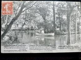 CARTE POSTALE _ CPA VINTAGE : FRANCE _ EUGENIE Les BAINS _ Lac Des Thermes _ 1907 _ Barque       // CPA.L.FR240.27 - Autres Communes