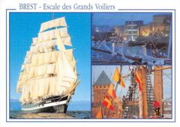 BREST Grande Fete Maritime Au Coeur De La Ville 14(scan Recto-verso) MA1980 - Brest