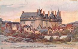 CHATEAU DE LANGEAIS Construction Du XIIIe Siecle 30(scan Recto-verso) MA1985 - Langeais
