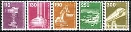 Berlin - Mi 668 / 672 - ** Postfrisch (A) - Industrie Und Technik III - Unused Stamps