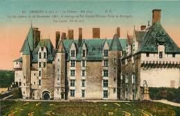 LANGEAIS  Le Chateau Colorisée      22   (scan Recto-verso)MA1939Bis - Langeais