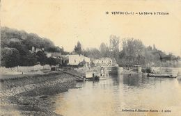 Vertou (Loire-Inférieure) - La Sèvre à L'Ecluse - Collection F. Chapeau, Carte N° 12 - Frankreich