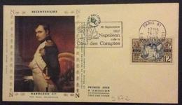 D372 «16 Septembre 1807 Napoléon Crée La Cour Des Comptes» 1107 Cour Des Comptes 16/9/1969 - Postmark Collection (Covers)