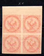 FRANCE - YT N° 5 X4 Bdf - Neuf ** - MNH - Cote: 210,00 € - Aigle Impérial
