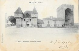 Cahors (Lot) - Barbacane Et Tour Des Pendus - Edition J. Girma, Carte Dos Simple - Cahors