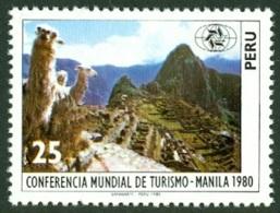 PERU 1980 TOURISM, MACHU PICCHU CITADEL** (MNH) - Peru