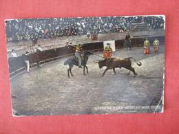Sufrete De Vara Mexican Bull Fight Has Stamp & Cancel     Ref 3327 - Corrida