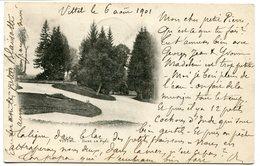 CPA - Carte Postale - France - Vittel - Dans Le Parc - 6 Août 1901 (M8443) - Vittel Contrexeville